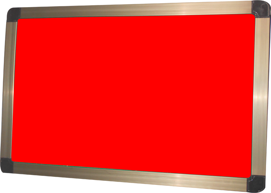 HD Notice Board Red
