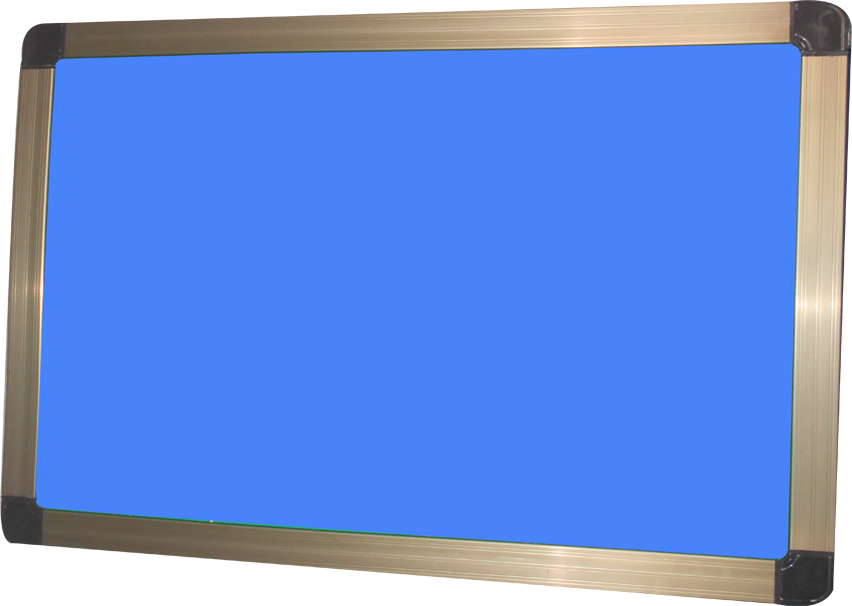 HD notice board sky blue